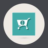 Cart online store — Stock Vector