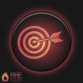Target symbol. — Stock Vector