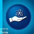 Physics or chemistry icon — Stock Vector #56456947