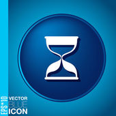 Hourglass waiting — Stockvektor