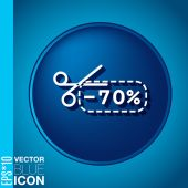 Icon of discounts — Stock vektor