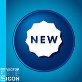 Label new — Stock Vector