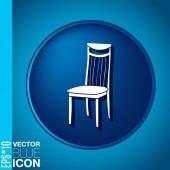 Chair icon — Stock Vector