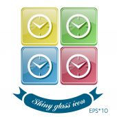 Symbol time — Stock Vector