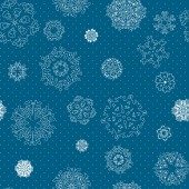 Snowflakes texture — Stock Vector