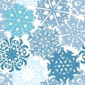 Snowflakes texture — Vecteur