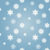 Textura de flocos de neve — Vetor de Stock