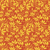 Barberry seamless pattern — Stock Vector