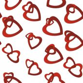 Valentines day. Abstract paper hearts. Love. Valentine background with hearts — Vector de stock
