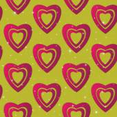 Valentines day. Abstract paper hearts. Love. Valentine background with hearts — Stockvektor