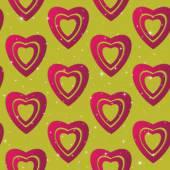Dia dos namorados. Corações de papel abstrato. Amor. Fundo de dia dos namorados com corações — Vetor de Stock