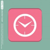 Clock, symbol of time — Stock Vector