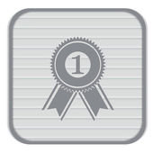 First place icon — Stock Vector