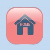 House icon, home — Stock Vector