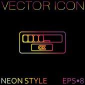 Web, interface icon — Vetor de Stock