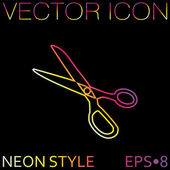 Sewing and fashion icon — Vetor de Stock