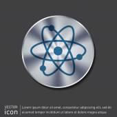 Symbolikon fysik eller kemi — Stockvektor