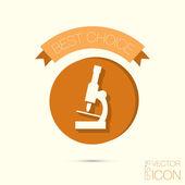 Biology or medicine icon — Stock Vector