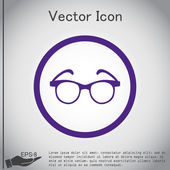 Glasses, vision icon — Stock Vector