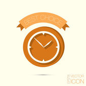 Clock, watch sign — Stock Vector