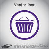 Online shop icon — Vector de stock