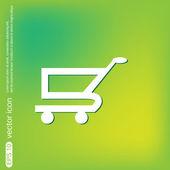 Shopping, online store icon — Stockvector