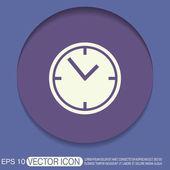 Clock watches icon — Stock Vector