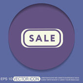 Sale label sign — Stock Vector