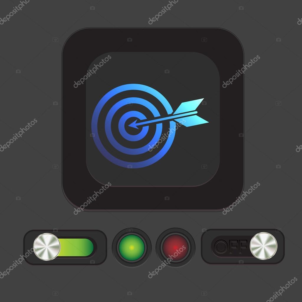 Target Symbol Target Symbol Sporty