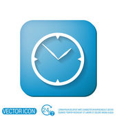 Clock, Icon watch — Stock Vector