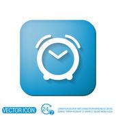 Reloj muestra el tiempo — Vector de stock