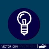 Glühbirne. Charakter-Ideen — Stockvektor