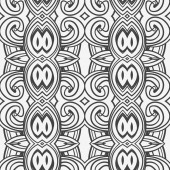 Abstract seamless ornament pattern — Stock Vector