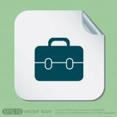 Icona simbolo valigetta — Vettoriale Stock