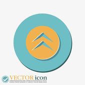Move arrows sign — Stock Vector