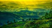 Paesaggio di montagna di strato, chiang rai, thailandia — Foto Stock