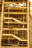 Strukturen stål för att bygga torn — Stockfoto