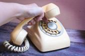 Retro telephone.  — Stock Photo