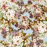 Flowers Bouquet seamless pattern — Stock Photo #54476381