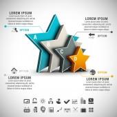 Infografía — Vector de stock