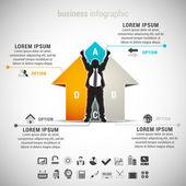 Infographic — Stock Vector