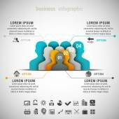 Obchodní infographic — Stock vektor