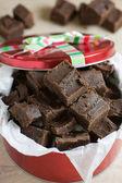 Handmade Chocolate Fudge — Stock Photo