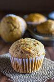 Applesauce Carrot Muffins — Stock Photo