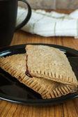 Whole Wheat Toaster Pastries — Stock Photo