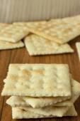 Galletas saladas — Foto de Stock