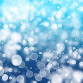Blue Bokeh background — Stock Photo