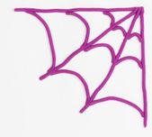 Hamuru örümcek ağı. — Stok fotoğraf