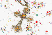 Religious cross — Stock Photo