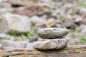 Haufen Steine. — Stockfoto